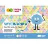 Blok wycinanka Happy Color, A5/10k - pastelowe (HA 3710 1520-PA10)