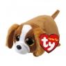 Teeny Tys Suzie - brązowo-biały pies 10 cm (41249)