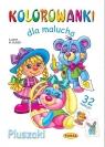 Kolorowanki dla malucha Pluszaki  Budek Mariola