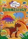Dinozaury Zabawa naklejkami