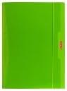 Teczka A4 z gumką zielona