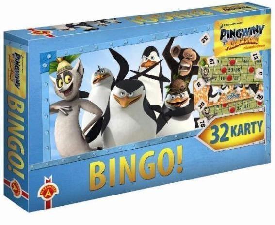 Bingo Pingwiny z Madagaskaru (1449)