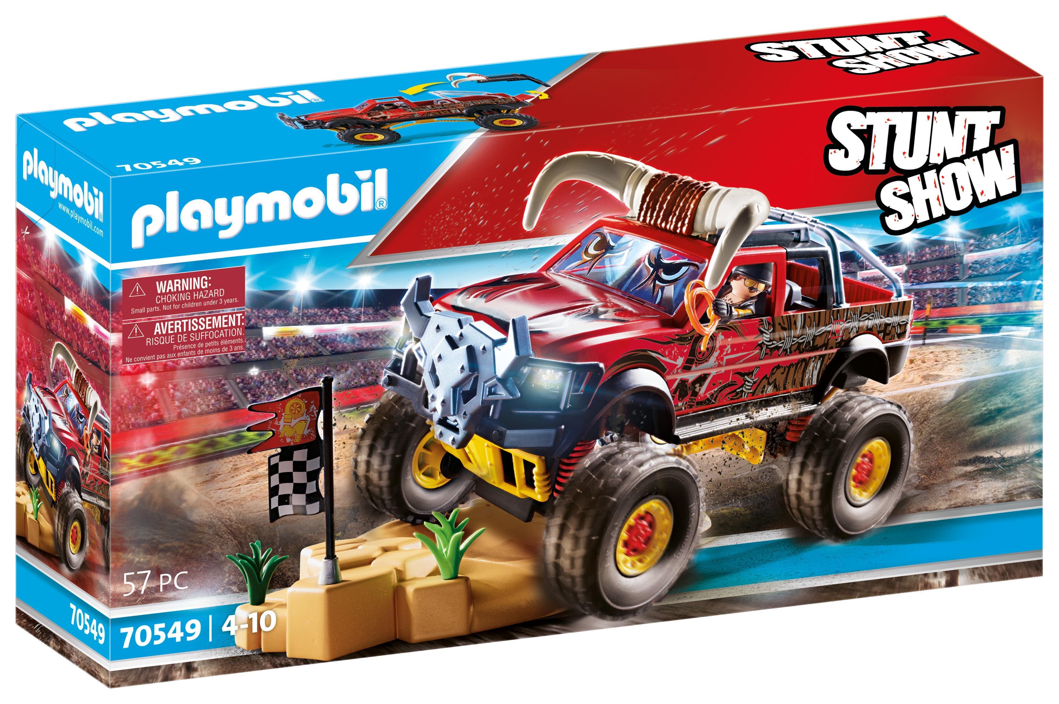 Playmobil Stuntshow: Pokaz kaskaderski, Monster Truck Rogacz (70549)