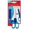 Nożyczki szkolne Grip Faber-Castell - niebieskie (181549 FC)