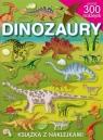 Dinozaury Książka z naklejkami