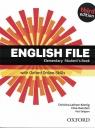 English File. Język angielski. Elementary Student`s Book + online practice. Podręcznik dla liceum i technikum. Wydanie 3