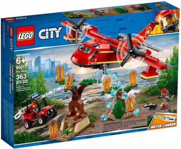 Klocki City Samolot strażacki (60217)