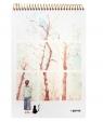 Kołoszkicownik B5/48K dziewczyna z kotem drzewa