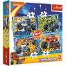 Puzzle 4w1: Blaze i jego przyjaciele (34349)