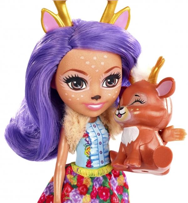 Enchantimals: lalka Danessa + zwierzątko