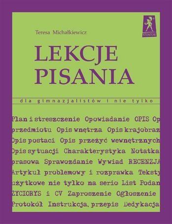 Lekcje pisania Michałkiewicz Teresa
