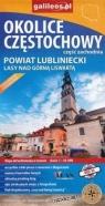 Mapa - Okolice Częstochowy cz.zachodnia 1:50 000