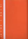 Skoroszyt z perforacją A4 Evo pomarańczowy
