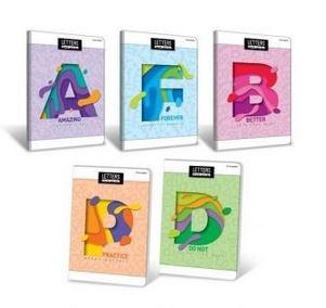 Zeszyt A5 Letters 32 kartki, kratka