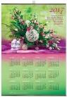 Kalendarz 2017 ścienny plakatowy średni - Bukiet