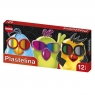 Plastelina Mona, 12 kolorów (MON-00043)