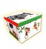 Składane, kartonowe pudełko. Zwierzęta. Marzipan