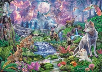 Puzzle 3000 HQ Moonlit Wild