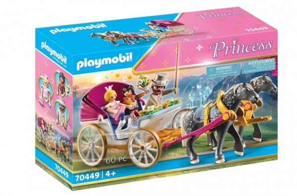 Zestaw z figurkami Princess 70449 Romantyczna bryczka (70449)