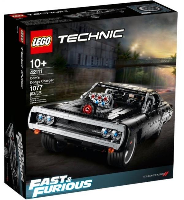 Lego Technic: Szybcy i Wściekli - Dom's Dodge Charger (42111)