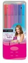 Pisaki w pudełku 12 kolorów Violetta 13
