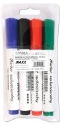 Marker Suchościeralny Maxx 4 kolory (212060)