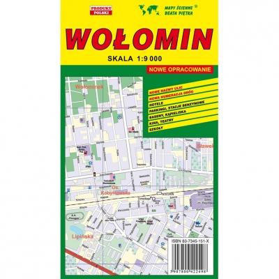 Plan miasta Wołomin Wydawnictwo Piętka