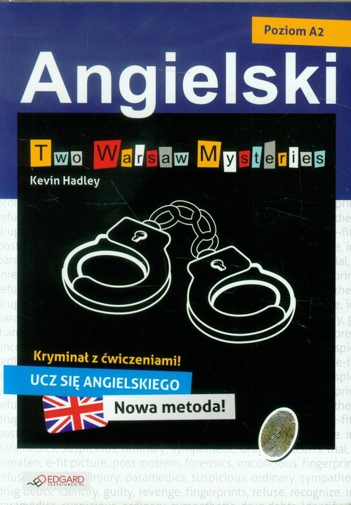 Angielski Kryminał z ćwiczeniami Two Warsaw Mysteries Hadley Kevin