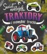 Świat naklejek. Traktory i monster trucki