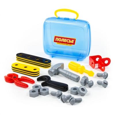 Narzędzia Polesie zestaw Mechanik 30 elementów w walizce (56498)