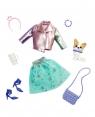 Barbie: Przygody księżniczek - Zestaw ubranko ze zwierzątkiem (GML63)