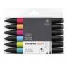 Zestaw pisaków Brushmarker Winsor & Newton - Mid Tones, 6 kolorów
