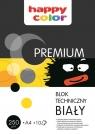 Blok techniczny Premium biały A4 - 10 arkuszy