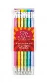 Ołówki z przekładanym wkładem, zawsze naostrzone, Stay Sharp, Zestaw 6 ołówków