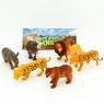 Figurki Dzikie zwierzęta 6 sztuk