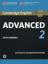 Cambridge English Advanced 2 Student's Book with answers and Audio (Uszkodzona