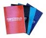 Blok Narcissus A5 klejony z góry Kropka 80 kartek 12 sztuk