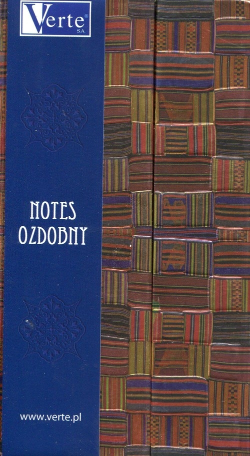 Notes ozdobny 8,5 x 16cm