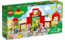 Lego Duplo: Stodoła, traktor i zwierzęta gospodarskie (10952)