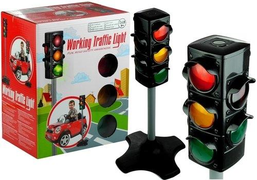 Sygnalizator świetlny drogowy dla dzieci 72 cm