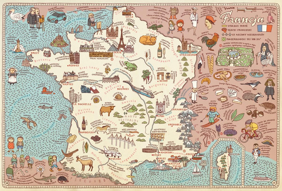 Mapy Edycja fioletowa. Mizielińska Aleksandra, Mizieliński Daniel