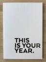 Kalendarz tygodniowy biały