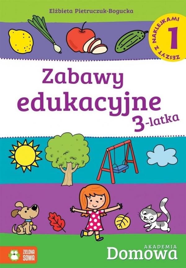 Zabawy edukacyjne 3-latka 1 praca zbiorowa