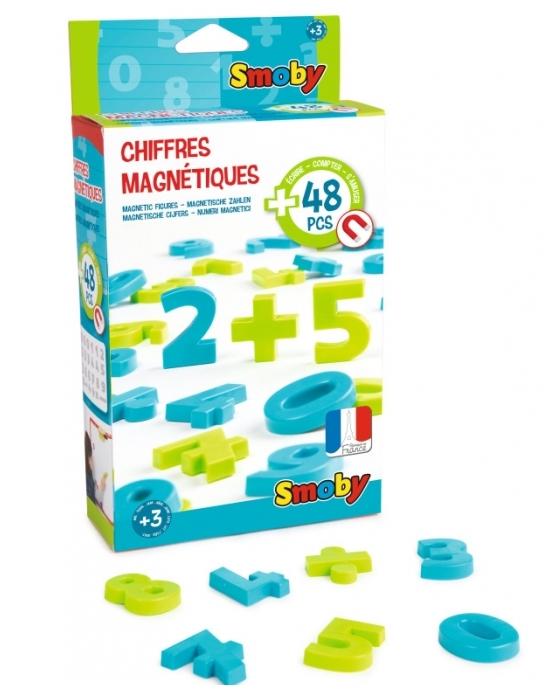 Cyfry i znaki magnetyczne 48 szt. (7600430101)