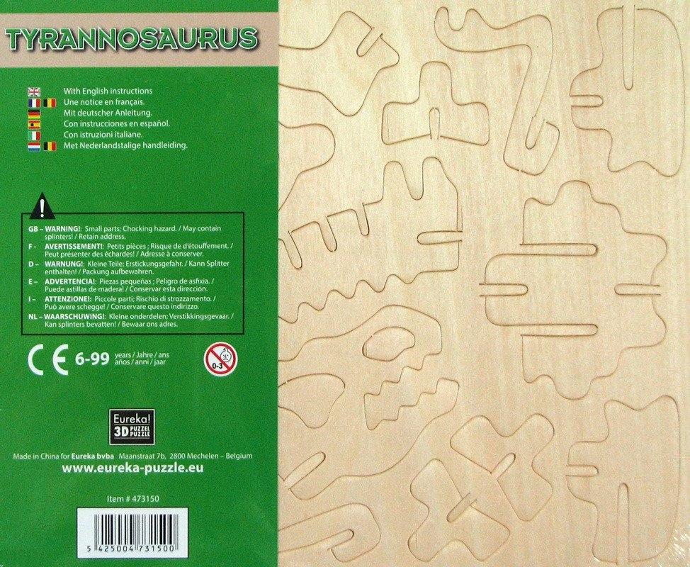 Łamigłówka drewniana Gepetto - Tyranozaur (105676)