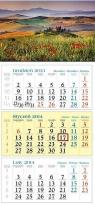 Kalendarz 2014 Toskania