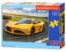 Puzzle 120: Classic  Yellow Sportscar