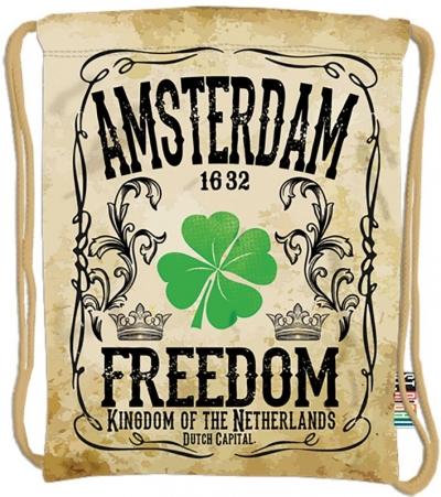 Plecak na sznurkach Stright SO-10 Amsterdam