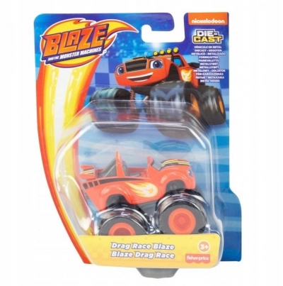 Blaze Metalowe pojazdy Drag Race Blaze