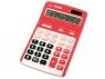 Kalkulator Milan 12 pozycyjny, czerwony